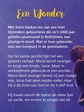 Miniboekje Kerst | een wonder_