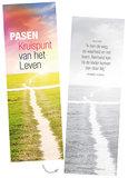 Boekenleggers / Pasen Kruispunt van het leven_