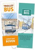 Trolleybus / Contact met boven_