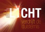 Ansichtkaarten / Licht verdrijft de duisternis_