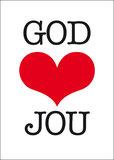 Dubbele kaarten | God houdt van jou_