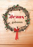 Dubbele kaarten | Jezus is geboren_