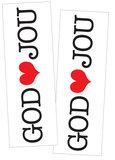 Stickers | God houdt van jou_