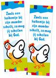 Stickers / Zoals een kuikentje_