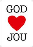 Magneetkaartjes / God houdt van jou_