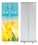 Roll-up banner | Pasen Gods plan_