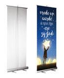 Roll-up banner | Ere zij God en vrede op aarde_