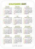 A7-kaartjes  | Mijn tijden zijn in Uw hand - kalender 2021_
