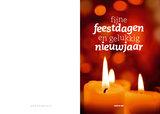 Dubbele kerst- en nieuwjaarskaarten_