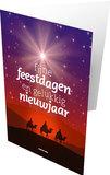 Gemengde set / Dubbele kerst- en nieuwjaarskaarten_
