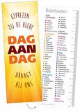 Boekenleggers / Dag aan dag - bijbelboeken_