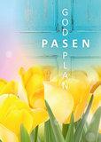 Gemengde set / Ansichtkaarten Pasen_