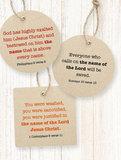 Miniboekje Kerst / Xmas ENGELSTALIG_