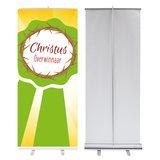 Roll-up banner /  Christus Overwinnaar_