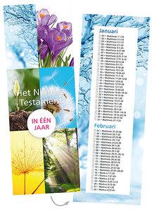 Bijbelleesrooster / Nieuwe Testament in 1 jaar