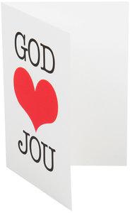 Dubbele kaarten | God houdt van jou
