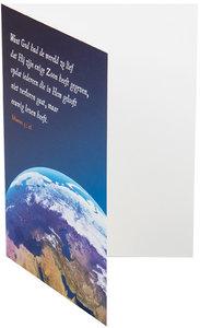 Dubbele kaarten | Want God had de wereld zo lief