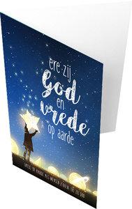 Dubbele kaarten |Ere zij God en vrede op aarde