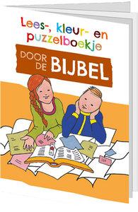 Lees- kleur- en puzzelboekje / Door de Bijbel