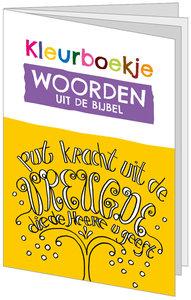 Kleurboekje | Woorden uit de Bijbel