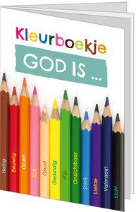 Kleurboekje / God is...