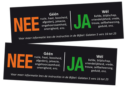 Stickers | NEE / JA