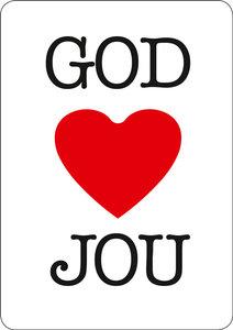 Magneetkaartjes / God houdt van jou