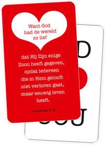 Creditcards | God houdt van jou