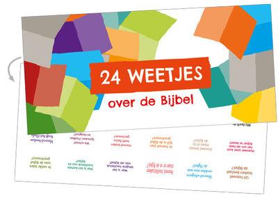 Luikjeskaart / 24 vragen over de Bijbel
