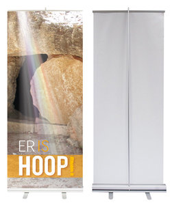 Roll-up banner | Er is hoop