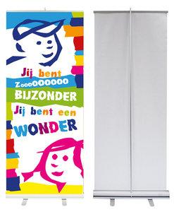 Roll-up banner / Jij bent zoooo bijzonder