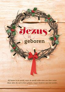 Poster / Jezus is geboren