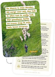 A7-Kaartjes | De Heere is mijn Herder