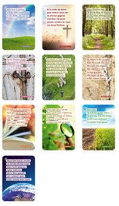 A7-Kaartjes   Gemengde set Bijbelkaartjes
