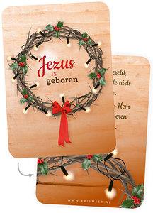 A7-Kaartjes | Jezus is geboren