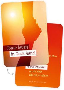 Minikaartjes / Jouw leven in Gods hand
