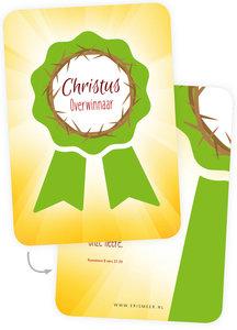 Minikaartjes /  Christus Overwinnaar