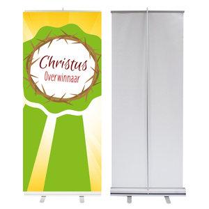 Roll-up banner /  Christus Overwinnaar